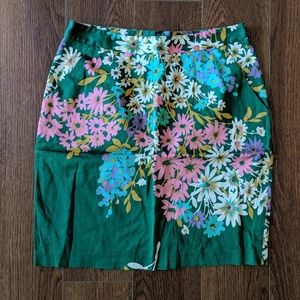 Odille Abronia Floral Pencil Skirt
